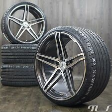 20-inch Alloy Wheels for Mercedes CL 63 AMG C216 S-class W222 Summer Tyres Rims