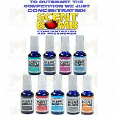 Scent Bomb 100% Concentrated Air Freshener Odor Eliminator Car & Home Spray 1oz
