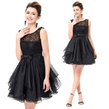 GK Lace Organza Ball Cocktail Evening Prom Party Dress Mini Bridesmaids Wedding