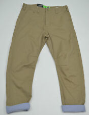 MENS GIO GOI BEIGE LOOSE CARROT FIT COTTON TROUSERS STYLE: DRUM SIZE 32R & 34R