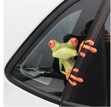 3D Funny Frog Car Stickers Cute Car Vinyl Stickers Decal Window Mirror