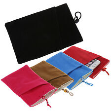 Soft Protective Cloth Sleeve Bag Pouch Double Layer for Samsung Galaxy S5 TS