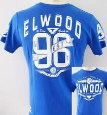 ELWOOD Mens Latest Premium Top Tee T-shirt Size M L XL XXL blue