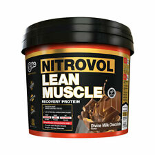 BSc Body Science Nitrovol Lean Muscle Protein Powder - Recovery Whey Casein WPC
