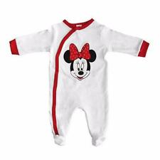 Baby Girl Minnie Mouse Cotton Sleep Suit