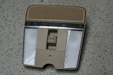 MERCEDES S550 CL550 AMG SUN ROOF DOME READING LIGHT LAMP BEIGE 2168205226 OEM