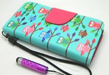 PU Leather Wallet Pouch Flip Protector Stand Case Cover Skin For HTC Desire 510