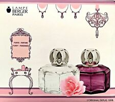 Lampe Berger SECRET GIFT SET Glass Lamp W/One Size 180ml Fragrance-YOUR CHOICE -