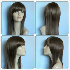 high heat resistant fibre lady wig long smooth layers S-C