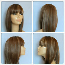 high heat resistant trendy fringe lady gaga wig ladies wigs skin top part T-004