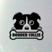 High Quality Border Collie Dog Sticker Car Styling Decal Decoration Accessories