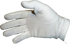 New Cotton Breathable White Equestrian Riding Gloves Horse tack English Dressage