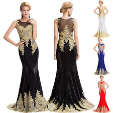 Women Sexy Long Evening Dress Ball Prom Gown Formal Bridesmaid Party Cocktail