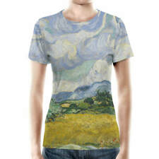 Vincent Van Gogh Fine Art Painting Women Cotton Blend T-Shirt XS - 3XL