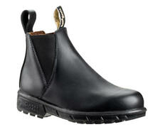729 Musk Womens Black Elastic Sided Steel Toe Safety Work Boots
