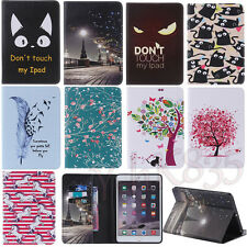 Luxury Slim Leather Wallet Card Holder Stand Case Cover For iPad 2 3 4/Mini/Air