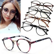 Fashion Metal+Plastic Frame Clear Lens Eyeglasses Glasses Spectacles Optical