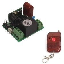 AC 220V 10A 1CH Relay Wireless Remote Switch Transmitter+Receiver 315/433MHz