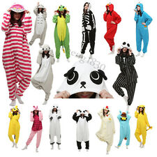 Hot New Unisex Adult Costume Pajamas Kigurumi Animal Cosplay Onesie Sleepwear