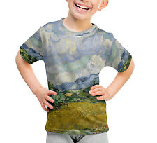Vincent Van Gogh Fine Art Painting Kids Sport Mesh T-Shirt Unisex All-Over-Print