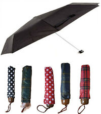 NEW MINI SMALL UMBRELLA BROLLY MEN WOMEN HANDBAG FOLDING COMPACT WATERPROOF