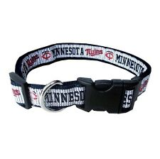 Minnesota Twins Dog Collar Officially Licensed MLB Products