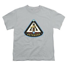 Eureka Men's  Astraeus Mission Patch Youth T-shirt Silver Rockabilia