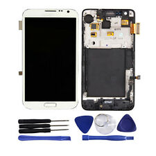 OEM LCD Display Touch Screen Digitizer Frame For Samsung Galaxy Note 2 II N7100