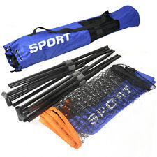 New Mini Badminton Net/Volleyball Net With Frame Stand Foldable SK