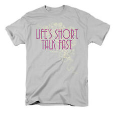 Gilmore Girls Men's  Lifes Short T-shirt Silver Rockabilia