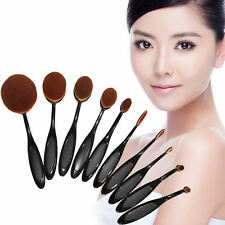 10x 5x Pro Tech Toothbrush Makeup Brushes Eyebrow Oval Powder Foundation Brush