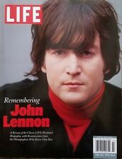 THE BEATLES-REMEMBERING JOHN LENNON-LIFE MAG-c2011-CLASSIC LIFE BIOGRAPHY-COOL