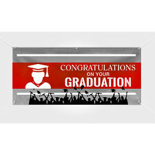 Custom Full Color Graduation Personalized College Banner
