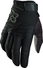 Fox Sidewinder Gloves 2016 MTB Mountain Bike Full Finger Cycling Gloves Black