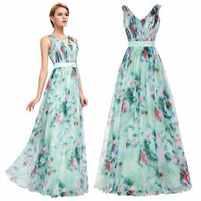 Long Chiffon Evening Prom Party Formal Gown Cocktail Bridesmaid Dress Fashion GK