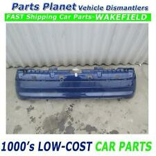 03 CLIO MK2 BLUE REAR BACK BUMPER BREAKING SPARE PARTS IN SHOP