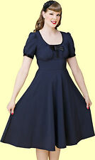 Stop Staring! - Elegant Blue Radiant Swing Dress.  New With Several Sizes.