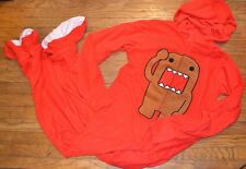 XL or 2XL Fleece DOMO Officially Licensed Adult Hooded Footed Pajamas Costume PJ