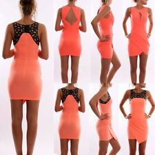 New Summer Sexy Womens Sleeveless Party Dress Evening Cocktail Casual Mini Dress