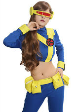 XCOSER Cyclops Costume X-Men Movie Woman Outfits Suit For Cosplay Halloween