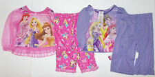 Disney Princesses Infant Girls Princess Pajama Sets 2 to Choose Size 12M NWT