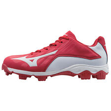 Mizuno Men's Low Cut  Advanced Franchise 8 Molded Baseball Cleat Red - 320505