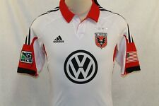 NWT ADIDAS AUTHENTIC SOCCER DC UNITED AWAY JERSEY SIZE XL $110