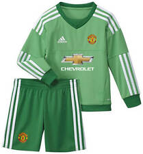 Manchester United Kids Home Goalkeeper Kit 2015 – 2016