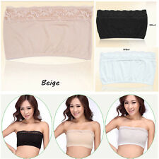 Fashion Women Lingerie Wrapped Chest Breathable Anti Emptied Underwear Bra Vest