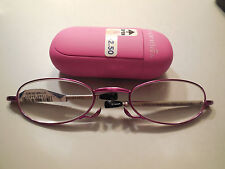 Magnivision Compact Folding Reading Glasses Gwendolyn Retails $27.99 +2.50