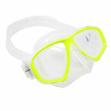 Scuba Yellow Dive Mask FARSIGHTED Prescription RX Optical FULL Lenses