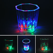 Unique Design Flashing LED Wine Glass Light Up Party Bar Drink Cups Newest CO