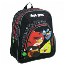 Angry Birds Backpack Gym Swim School Travel Swim PE Bag Black
