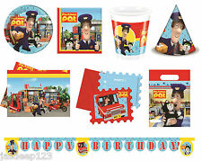 Postman Pat Party Tableware Childrens Kids Birthday Party Decoration Boys Party